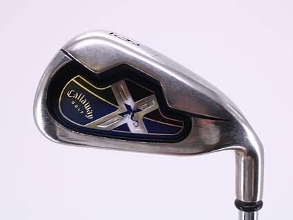 Callaway X-18 Single Iron 6 Iron Callaway X Steel Steel Uniflex Right Handed 37.5in