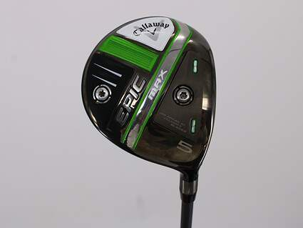 Callaway EPIC Max Fairway Wood 5 Wood 5W 18° Project X HZRDUS Smoke iM10 60 Graphite Regular Right Handed 42.5in