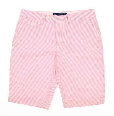 New Womens Ralph Lauren Golf Shorts 6 Pink MSRP $90