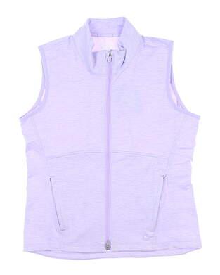 New Womens Puma Cloudspun Vest Small S Light Lavender MSRP $75 599266 05