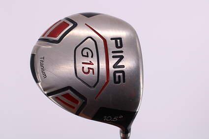 Ping G15 Driver 10.5° Aldila NVS 55 Graphite Stiff Right Handed 45.75in