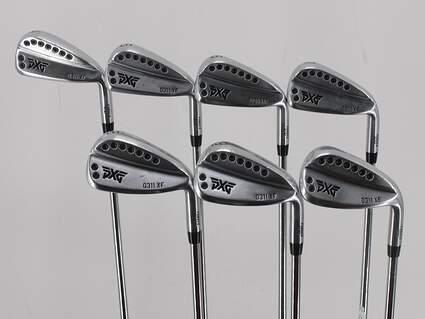 PXG 0311 XF GEN2 Chrome Iron Set 4-PW FST KBS Tour Steel Stiff Right Handed 39.75in