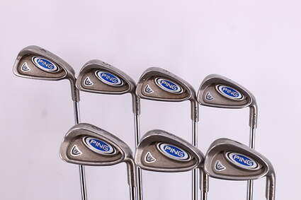 Ping i5 Iron Set 4-PW True Temper Steel Stiff Right Handed Black Dot 37.75in