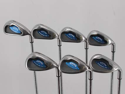 Callaway X-16 Iron Set 6-PW SW Callaway Stock Steel Steel Uniflex Right Handed 37.75in