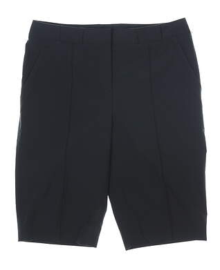 New Womens Cutter & Buck Shorts 8 Black MSRP $50 LCB04662