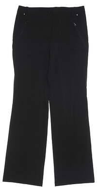 New Womens Nivo Sport Golf Pants 8 Black MSRP $90