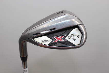 Callaway 2013 X Hot Wedge Gap GW Stock Steel Shaft Steel Wedge Flex Left Handed 35.75in