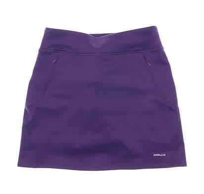 New Womens Cutter & Buck Annika Golf Skort Small S Purple MSRP $90 LAB00023