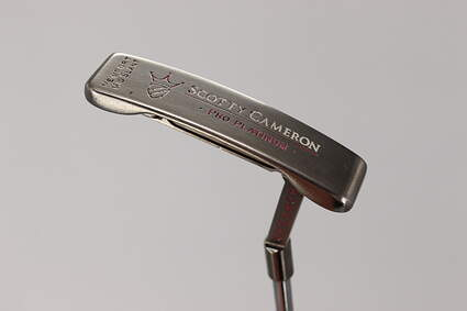 Titleist Scotty Cameron Pro Platinum Newport Mid Slant Putter Steel Right Handed 33.0in