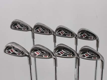 Ping G15 Iron Set 5-PW GW SW Ping AWT Steel Stiff Right Handed Black Dot 38.0in