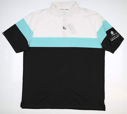New W/ Logo Mens MATTE GREY Ranger Polo XX-Large XXL Multi MSRP $70 110119