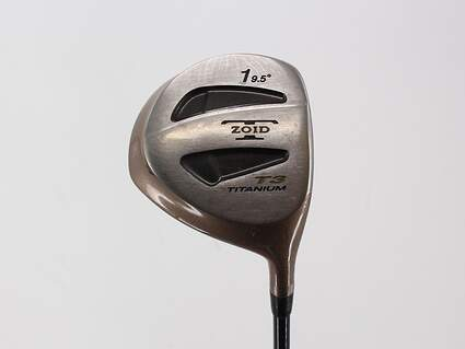 Mizuno T-Zoid T3 Titanium Driver 9.5° Stock Graphite Shaft Graphite Stiff Right Handed 45.5in