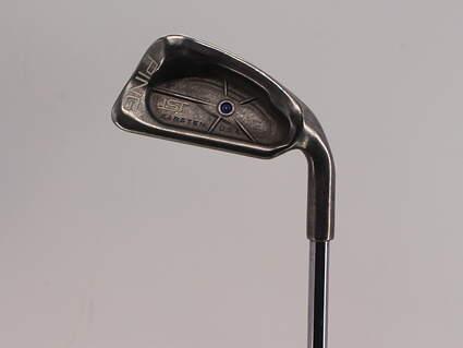 Ping ISI Single Iron 4 Iron Stock Steel Shaft Steel Stiff Right Handed Blue Dot 39.0in