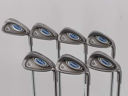 Ping i5 Iron Set 5-PW GW Ping AWT Steel Regular Right Handed Purple dot 37.75in