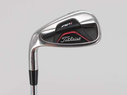 Titleist 712 AP1 Single Iron 9 Iron Dynamic Gold XP R300 Steel Regular Left Handed 36.5in
