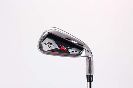 Callaway 2013 X Hot Single Iron 6 Iron True Temper Speed Step 85 Steel Regular Right Handed 37.75in