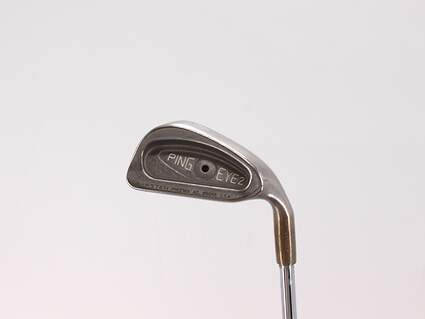 Ping Eye 2 Single Iron 4 Iron True Temper Dynamic Gold S300 Steel Stiff Right Handed Black Dot 38.25in