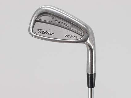 Titleist 704.CB Single Iron Pitching Wedge PW True Temper Dynamic Gold S300 Steel Stiff Right Handed 37.75in