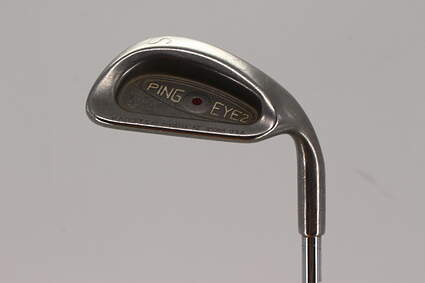 Ping Eye 2 + Wedge Sand SW Ping KT-M Steel Stiff Right Handed Maroon Dot 37.5in