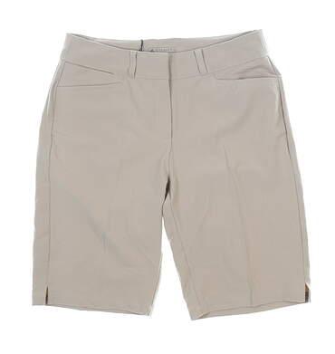 New Womens Adidas Golf Shorts 6 Khaki MSRP $65
