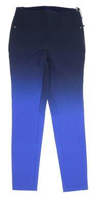 New Womens Ralph Lauren RLX Golf Pants 2 Blue MSRP $188
