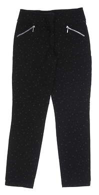 New Womens GG BLUE Striking Pants 8 Black MSRP $88 P4006-3675