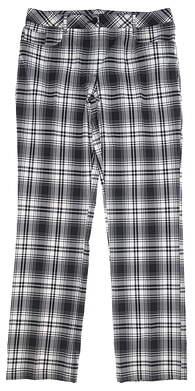 New Womens Nivo Sport Plaid Pants 10 Multi MSRP $110 NI5210426