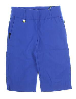 New Womens Swing Control Golf Shorts 6 Cobalt Blue MSRP $110 KS1102