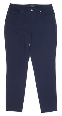 New Womens Nike Golf Pants 8 Navy Blue MSRP $95 BV6081-451