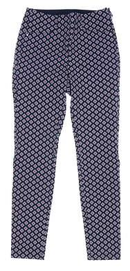 New Womens Ralph Lauren RLX Golf Pants 2 Multi MSRP $188