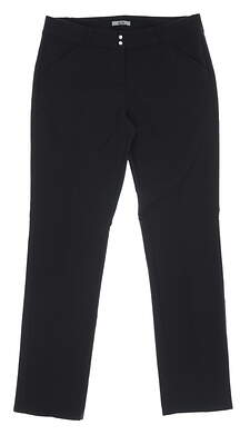 New Womens Adidas Climawarm Pants 8 Black MSRP $90 CY5257