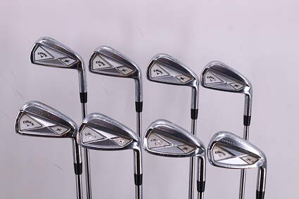 Callaway 2013 X Forged Iron Set 3-PW FST KBS Tour Steel Stiff Right Handed 38.5in