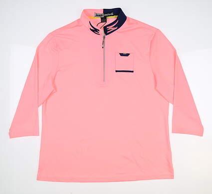 New Womens Jamie Sadock 3/4 Sleeve Pullover Large L Cupid MSRP $93 91101