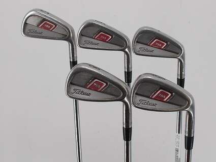 Titleist 755 Forged Iron Set 5-9 True Temper Dynamic Gold S300 Steel Stiff Right Handed 38.5in