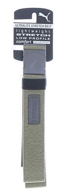New Mens Puma Ultralite Stretch Golf Belt OSFM Forest Night Heather MSRP $26