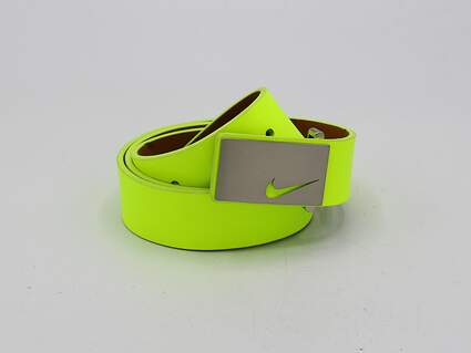 New Womens Nike Golf Belt XS Volt MSRP $50
