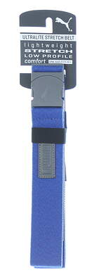 New Mens Puma Ultralite Stretch Golf Belt OSFM Sodalite Blue Heather MSRP $26