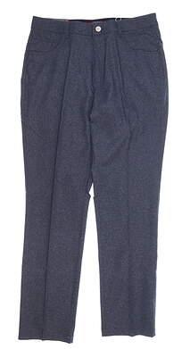 New Mens Puma Heather 5 Pocket Pants 32 x32 Peacoat MSRP $85 578796 01