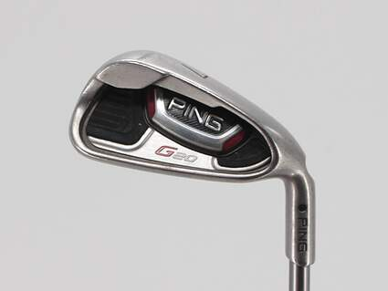 Ping G20 Single Iron 7 Iron Ping TFC 169I Graphite Senior Right Handed Black Dot 37.0in