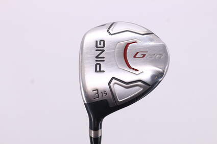 Ping G20 Fairway Wood 3 Wood 3W 15° Ping TFC 169F Graphite Stiff Left Handed 42.75in