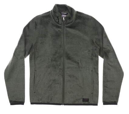 New Womens Puma Sherpa Golf Fleece Jacket Small S Thyme MSRP $100 597716 01