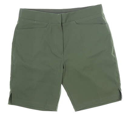 New Womens Puma Pounce Bermuda Shorts Small S Thyme MSRP $65 577944 18