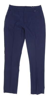 New Womens Puma Golf Pants Small S Peacoat MSRP $80 596630 04