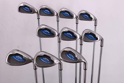 Callaway X-16 Iron Set 3-LW Callaway Stock Steel Steel Uniflex Right Handed 37.75in