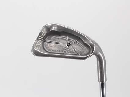Ping ISI Single Iron 6 Iron Ping JZ Steel Stiff Right Handed Black Dot 37.5in