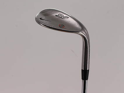 Nike SV Tour Chrome Wedge Lob LW 60° 6 Deg Bounce True Temper Black Gold Steel Wedge Flex Right Handed 34.75in