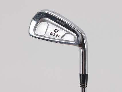 TaylorMade 300 Single Iron 6 Iron Rifle 6.0 Steel Stiff Right Handed 37.5in