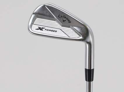 Callaway X Forged Single Iron 7 Iron KBS Tour 130 Steel X-Stiff Right Handed 37.5in