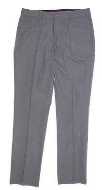 New Mens Puma Heather 5 Pocket Pants 32 x32 Quiet Shade MSRP $85 578796 01