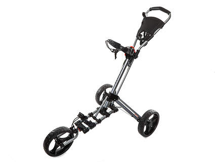 Brand New Fast Fold 9.0 3 Wheel Push and Pull Cart Silver/Black